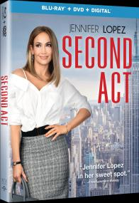 SECOND ACT on Blu-ray, DVD, & Digital!