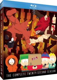 SOUTH PARK - THE COMPLETE TWENTY-SECOND SEASON on Blu-ray from Paramount!