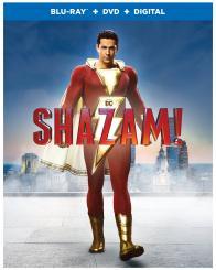 SHAZAM! on Blu-ray, DVD, & Digital!