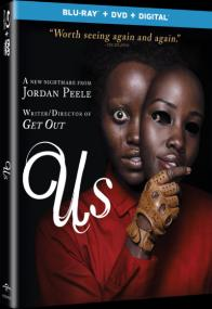 US & GET OUT on Blu-ray, DVD, & Digital!