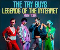 Tickets to see THE TRY GUYS at the Shubert Theatre on July 27! :: Boston, MA