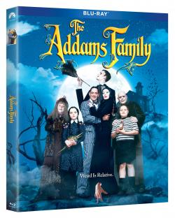 THE ADDAMS FAMILY & ADDAMS FAMILY VALUES on Blu-ray!