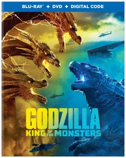 GODZILLA: KING OF MONSTERS on Blu-ray, DVD, & Digital!