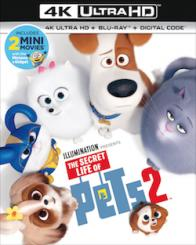 THE SECRET LIFE OF PETS 2 on Blu-ray, DVD & Digital!