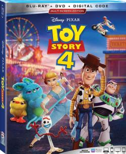 TOY STORY 4 on Blu-ray, DVD, & Digital!