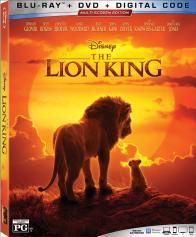 THE LION KING on Blu-ray, DVD, & Digital!