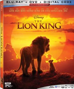 THE LION KING on Blu-ray, DVD, & Digital!