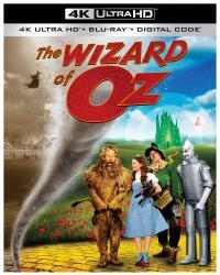 THE WIZARD OF OZ on 4K Ultra HD, Blu-ray, & Digital!