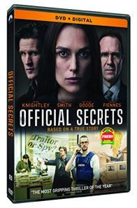 OFFICIAL SECRETS on DVD!