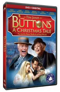 BUTTONS: A CHRISTMAS TALE on DVD!