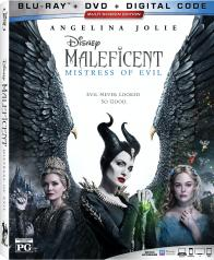 MALEFICENT: MISTRESS OF EVIL on Blu-ray, DVD, & Digital!