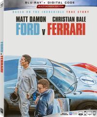 FORD V FERRARI on Blu-ray & Digital!