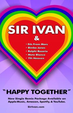 "Enter to win a free download of Sir Ivan's ""Happy Together"" Remix EP!"