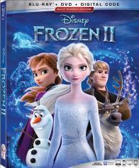 FROZEN II on Blu-ray, DVD, & Digital!