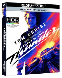 DAYS OF THUNDER on 4K Ultra HD, Blu-ray, & Digital from Paramount Home Entertainment!