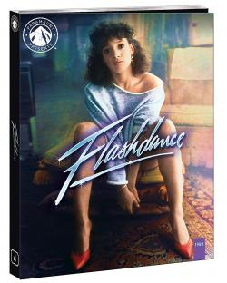 FLASHDANCE on Blu-ray from Paramount Home Entertainment!