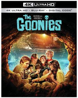 THE GOONIES on 4K Ultra HD, Blu-ray, and Digital!