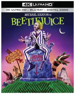 BEETLEJUICE on 4K Ultra HD, Blu-ray, & Digital!