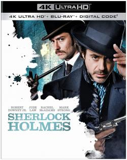 SHERLOCK HOLMES on 4K Ultra HD, Blu-ray, & Digital!