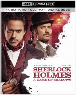 SHERLOCK HOLMES - A GAME OF SHADOWS on 4K Ultra HD, Blu-ray, & Digital!