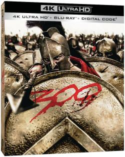 300 on 4K Ultra HD, Blu-ray, + Digital!