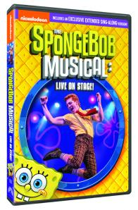 The SpongeBob Musical: Live on Stage! on DVD!