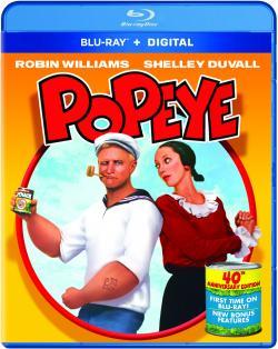 POPEYE on Blu-ray & Digital!
