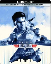 TOP GUN 4K Ultra HD from Paramount Home Entertainment!