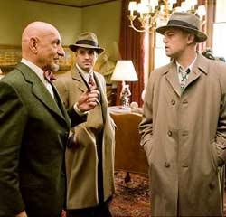 "Ben Kingsley, Mark Ruffalo and Leonardo DiCaprio in ""Shutter Island"""