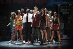 The cast of the national tour of In The Heights.