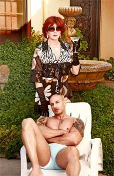 Lana Luster and Quentin Elias