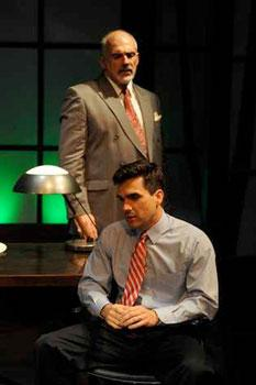 John Herrera and Dan Domingues in When The Sun Shone Brighter at the Florida Stage through June 20, 2010.