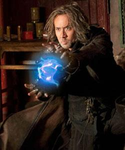 "Nick Cage dazzles us with blue light in ""The Sorceror's Apprentice"""