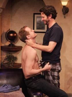 Corey Brill and Will Beinbrink in Caught