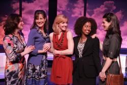 Lindsey Alley, Kim Huber, Alet Taylor, Jennifer Leigh Warren and Shannon Warne in Having it All.