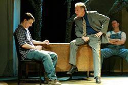 Joe Ruscio, Chuck Schwager, and James Bocock star in Book of Days