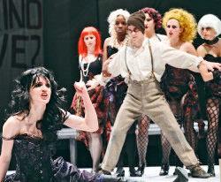 """A scene from """"Threepenny Opera"""""""