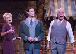 Laura Cable, Tom Schmid, and Michael G. Hawkins in The Sound of Music.