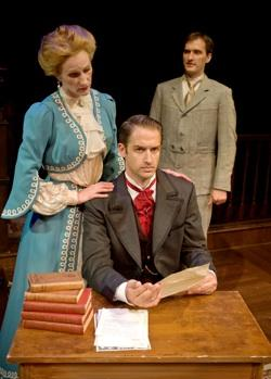 Ryan Childers, Candace Vance, and Aaron Lamb in An Ideal Husband