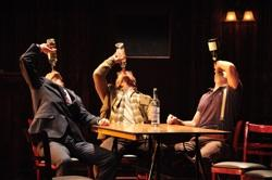"""Mike Iveson, Frank Boyd, and Ben Williams in """"The Select (The Sun Also Rises)"""")"""