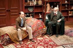 "David DeVries and Andrew Benator in ""Freud's Last Session"""