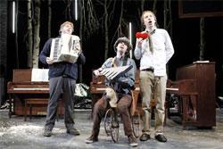 "Dave Malloy, Alec Duffy and Rick Burkhardt in ""Three Pianos"""