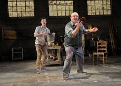 """Karl Baker Olson and Thomas Derrah in """"Red"""" in the SpeakEasy Stage Company's production"""