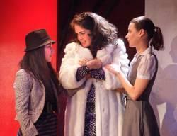 Diana Romo, Yetta Gottesman, and Isabella Ortega in El Nogalar
