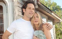 "Paul Rudd and Jennifer Aniston in ""Wanderlust"""
