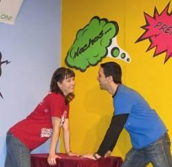 : Redetha Deason and Jonathan Brett in Geeks! The Musical!