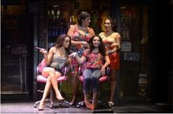 "The national touring cast of ""In the Heights"""