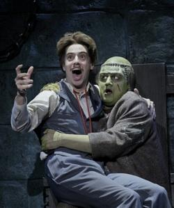 "Dr. Frankenstein and the Monster in ""Young Frankenstein"""
