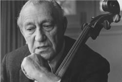 Master cellist Gregor Piatigorsky (1903-1976)