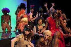 "The cast of ""A Midsummer Night's (Queer) Dream"